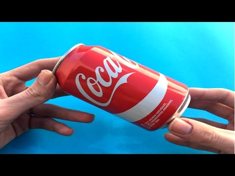 4 Amazing Life Hacks with aluminum cans!