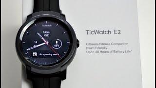 Mobvoi TicWatch E2 Smartwatch - Google WearOS - AMOLED