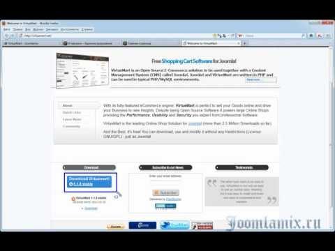 Главный модуль Virtuemart и вывод категорий