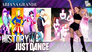 Just Dance | Ariana Grande | JD2014 - JD2017 | History in Just Dance