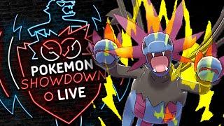 SHEER FORCE HYDREIGON! Pokemon Sword and Shield! Pokemon Showdown Live!