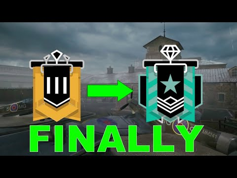 Hitting DIAMOND In Operation Grim Sky - Rainbow Six Siege Console Diamond