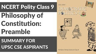 NCERT Political Science for Class 9 - Philosophy of Constitution: Preamble