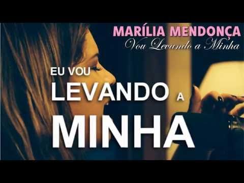 Marília Mendonça - Levando a minha [ ÁUDIO + LEGENDA ]