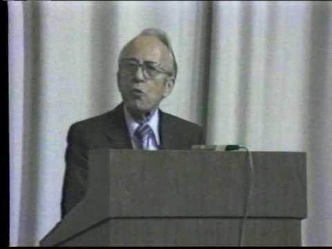Tommy Douglas - 1979 S.O.S. Medicare Conference