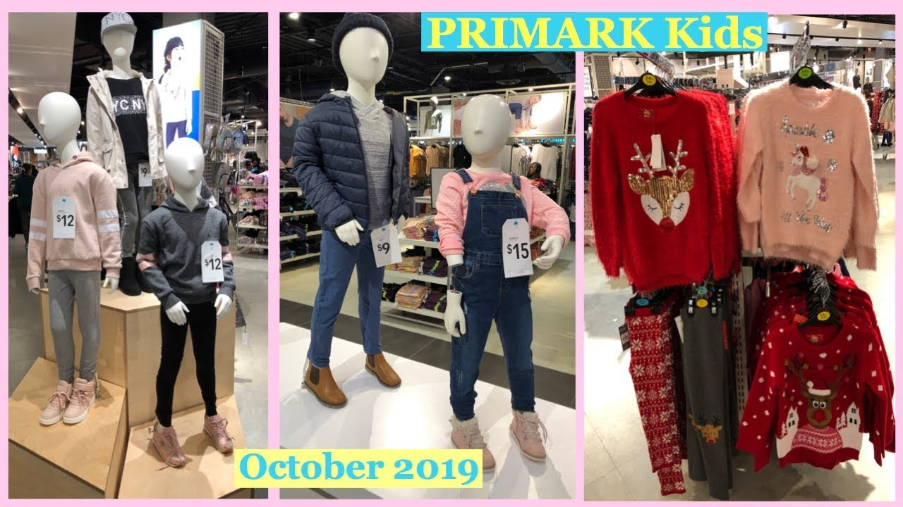 [VIDEO] - PRIMARK Autumn/ Winter Kids Clothing Collection|Christmas Outfit for Kids| New in PRIMARK 2019 7