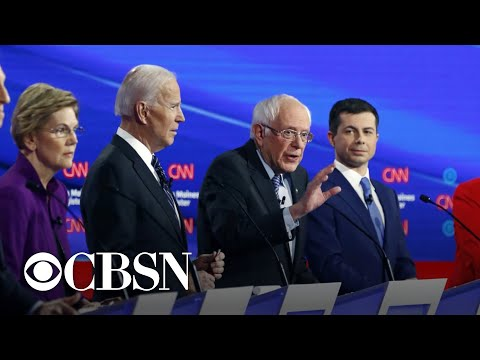 Disagreements Between Candidates At Iowa Democratic Debate