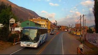 PERU TRAVEL: Awesome Bus Trip in the Andes to Cusco (near Machu Picchu)