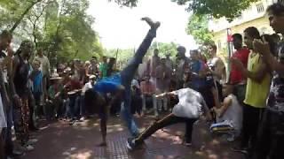 Capoeira na Praça da República SP - 21 de janeiro de 2018 - Parte 10
