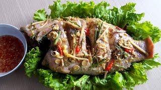 Cách Làm Cá Diêu Hồng Hấp Sả Thơm Lừng | Góc Bếp Nhỏ
