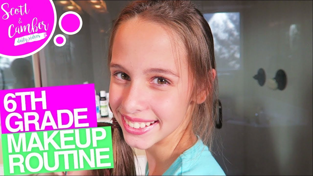 6th Grade Middle School Makeup Routine Back To School Week