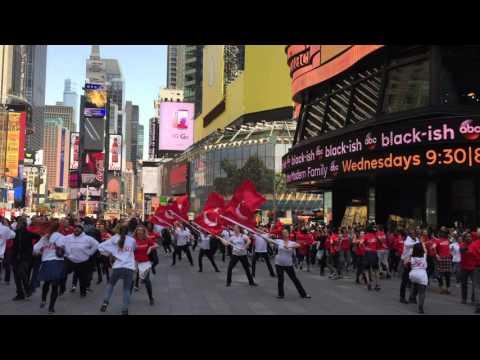 Turkey Flash Mob - Times Square NYC