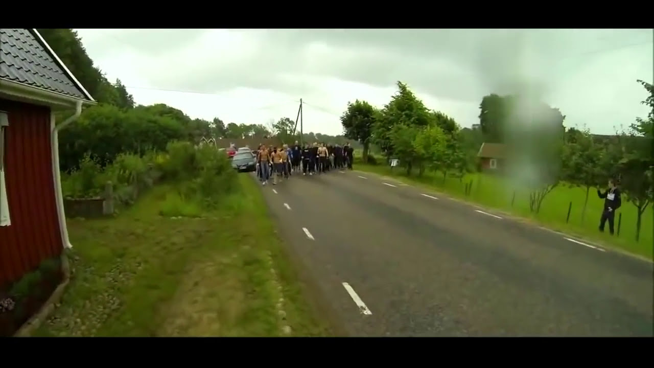 Hooligan Gang Fight Narrated by David Attenborough - YouTube