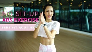 No Sit-up Abs Exercise By Bebe Fit Routine