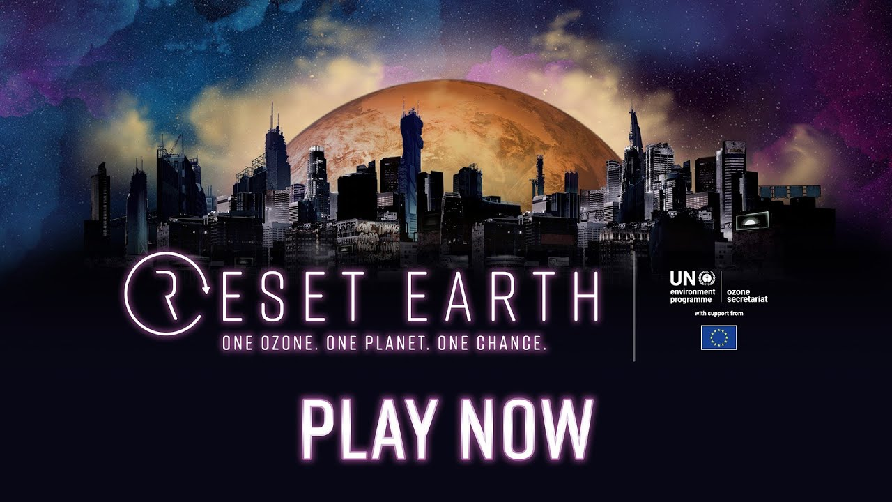 Reset Earth: One Ozone. One Planet. One Chance – mobile game app