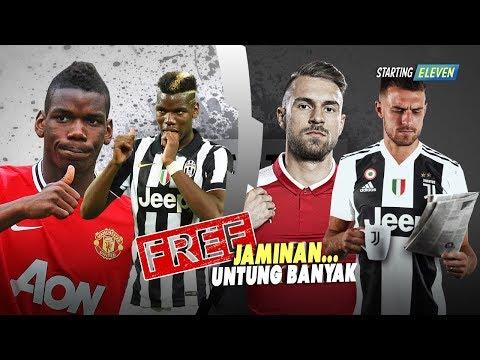 Pemain Terbaik Yang Didatangkan Juventus Secara Gratis Kemudian Dijual Mahal