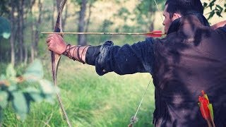 Traditional Archery Trick Shots