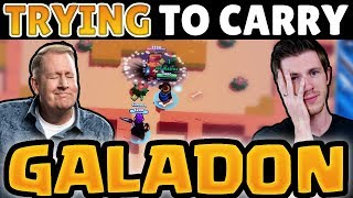 RANDOM Brawlers in Duos with Galadon! | Please be nice wheel...