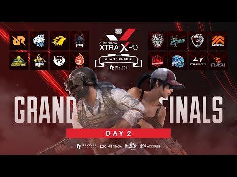 LIVE | CIMB Niaga Xtra Xpo PUBG Mobile Championship [ GRAND FINAL ] - DAY 2