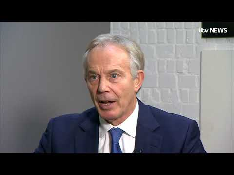 Brexit: Tony Blair disagrees with Jeremy Corbyn over Labour's stance | ITV News