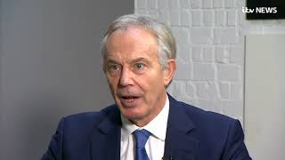 Brexit Tony Blair disagrees with Jeremy Corbyn over Labours stance  ITV News
