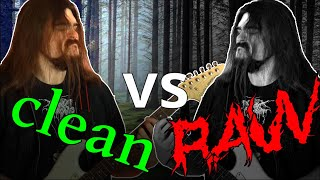 Black Metal good vs bad production