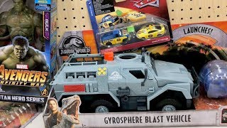 Disney Toy Hunt Jurassic World Fallen Kingdom - Disney Cars 3 Toys Avengers Infinity War 🔴 Toy Hunt