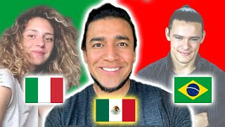 Mexican Spanish | Can Italian and Portuguese speakers understand it?