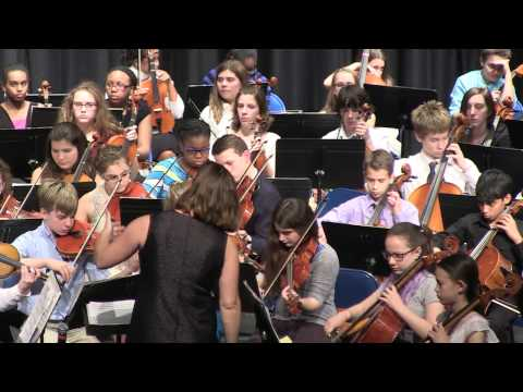 2015 Twelve Corners Middle School Chorus and Orch. Winter Concert