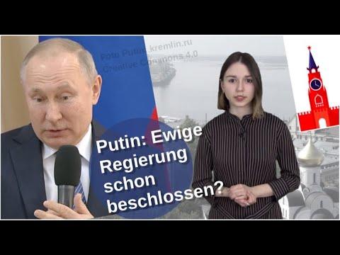 Putins ewige Regierung - schon beschlossen?