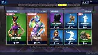 NEW BUNNYMOON SKIN! DAILY ITEM SHOP OCT 26/27! Fortnite Battle Royale!