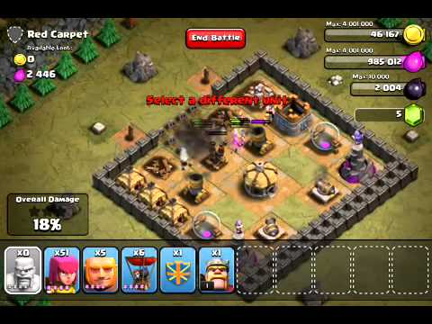 Clash of Clans - Hench Hunters - Red Carpet level 29