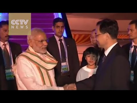 Indian PM Modi arrives in Hangzhou for the G20 Summit