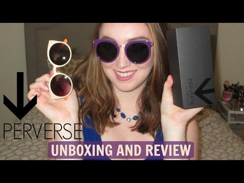 Perverse Sunglasses Review and Unboxing