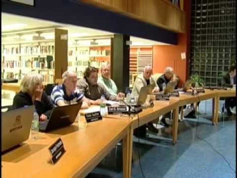 Réunion des Commissaire de la C.S.C.V. - Octobre 2012