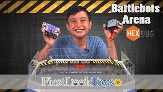 BattleBots Arena by Hexbug | Hot Toy Unboxing by FirstLookToys Toy Review | FirstLookToys from TTPM