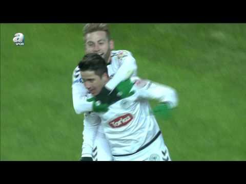 Torku Konyaspor 2 - 1 Etimesgut Belediyespor Maç Özeti (26 Ocak 2016)