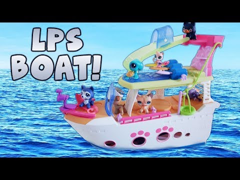 LIttlest Pet Shop Cruise Ship Toy Review! | Alice LPS
