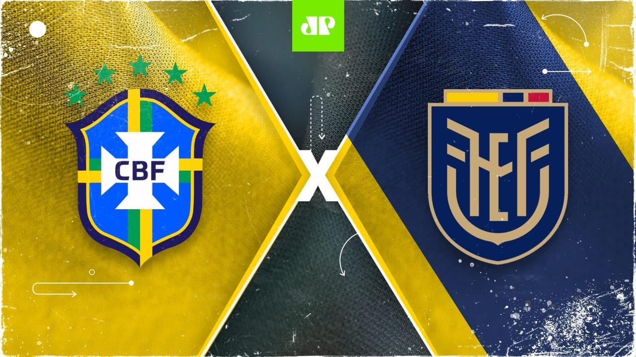 Brasil X Equador Ao Vivo 04 06 2021 Eliminatorias Da Copa Youtube