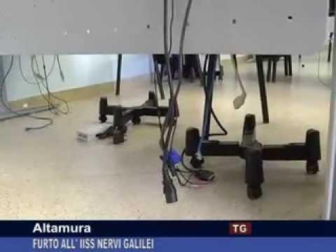 TG CANALE 2_ALTAMURA: FURTO ALL'IISS NERVI GALILEI