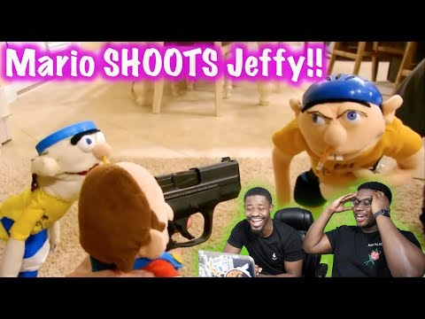 JEFFY VS MARIO! | SML Movie: Jeffy Sneaks Out Reaction!