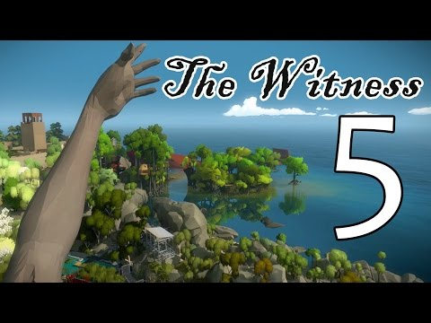 [5] The Witness - Greenhouse of Pain - Let's Play! Gameplay Walkthrough (PS4)