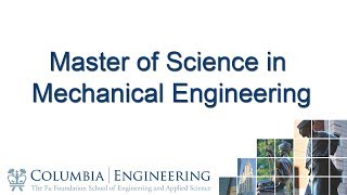 Master of Science in Mechanical Engineering thumbnail