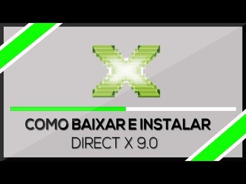Como baixar e Instalar ➜ Directx 9.0 Windows 7/8/8.1/10 (HD) 2016