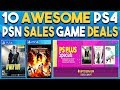 10 AWESOME PS4 Game Deals NOW! 2 NEW PSN SALES!