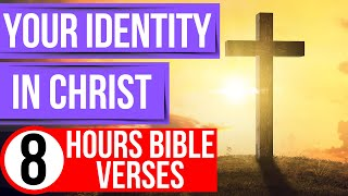 Who I am in Christ positive affirmations (Encouraging Bible verses for sleep with music)
