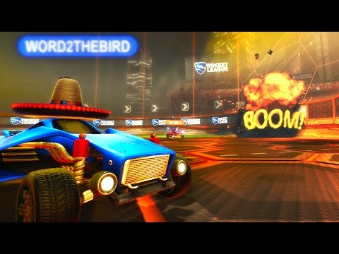 PRESTON PLAYS ROCKET LEAGUE RUMBLE! (He is noob)