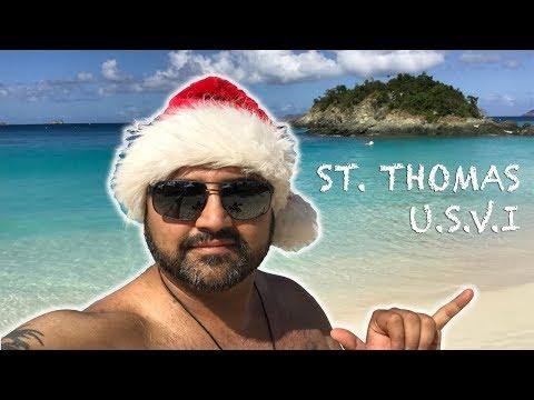 BUDGET FRIENDLY GETAWAY TO ST. THOMAS   CHRISTMAS HOLIDAY VIBEZ   USVI   2018   (VLOG#7)