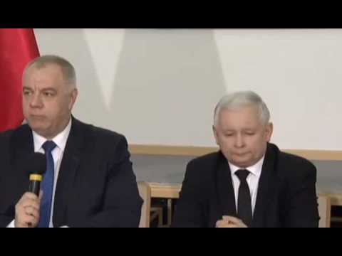 Konferencja w sprawie budowy pomników smoleńskich 12.04.2017
