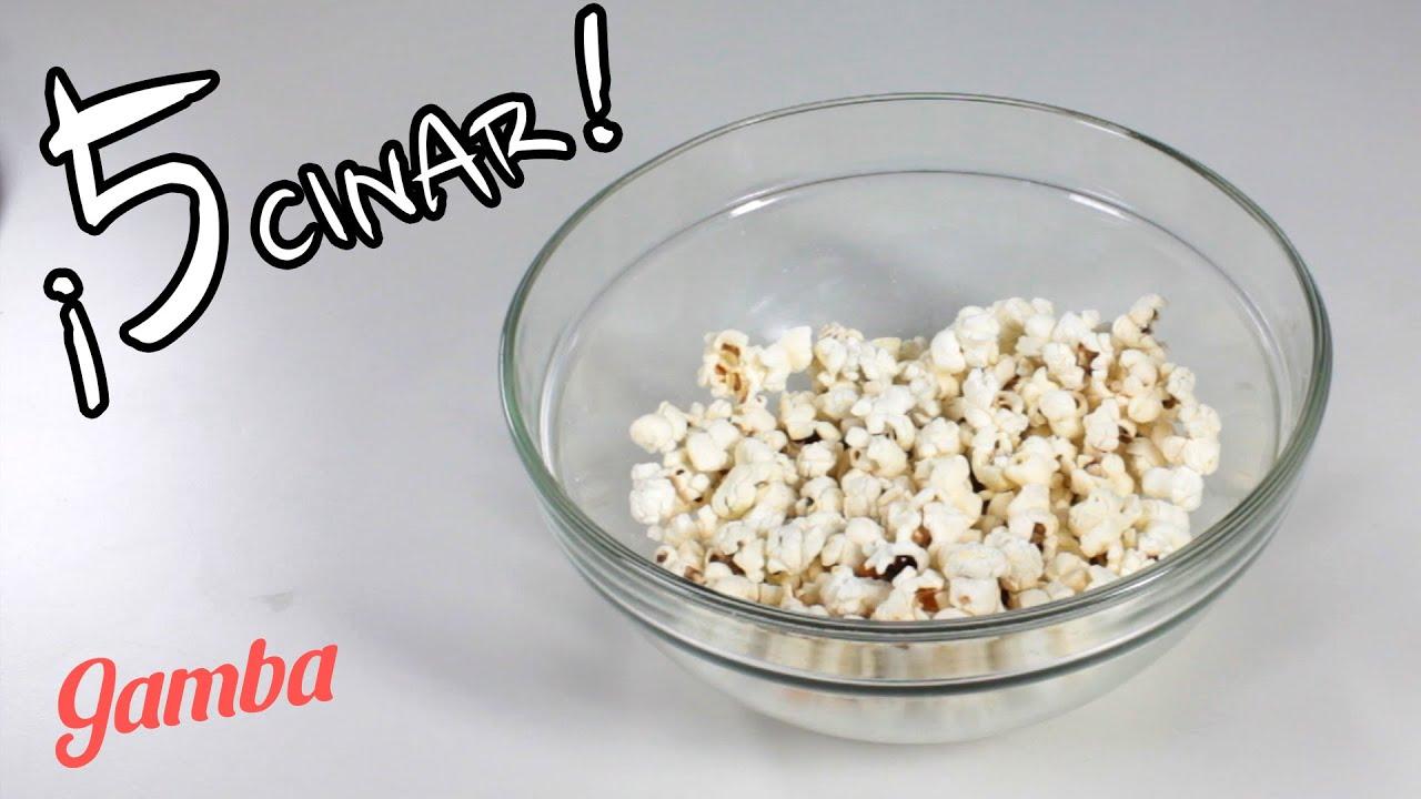 Cómo Hacer Palomitas de Maíz en Microondas - Tips Cocina - YouTube